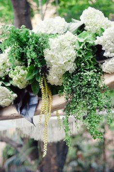 White and Green Arbor