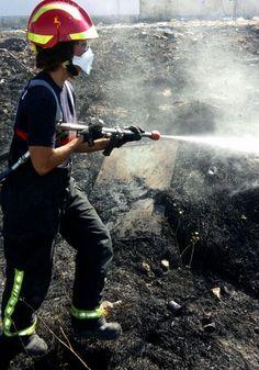 Nueva oleada de incendios en varias parcelas entre el polígono Los Olivares y el Bulevar