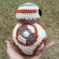 BB-8 Star Wars crochet pattern (Free Amigurumi Patterns)