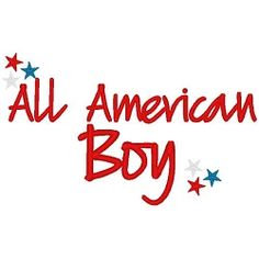All American Boy - 3 Sizes! | 4th of July | Machine Embroidery Designs | SWAKembroidery.com Band to Bow