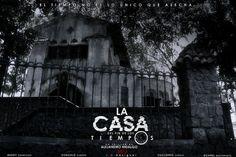 """un Póster sencillo que cree para la próxima película venezolana de Terror """"LA CASA DEL FIN DE LOS TIEMPOS""""."""
