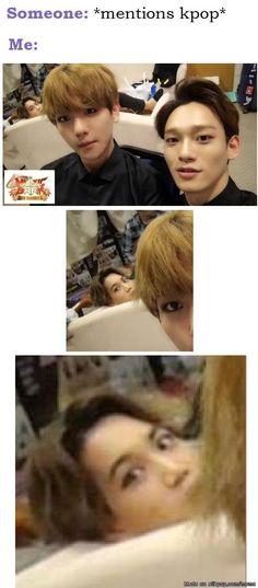 Them:(Kpop) Me:☺️ you like kpop? Too