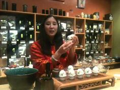 @MayKingTea is making tea the Chinese Gong Fu way. (don't you just love the play on words??)