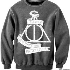 Deathly hallows sweater / love love love this jumper!