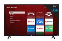 STUNNING PICTURE The TCL Roku TV delivers stunning picture performance while bringing all your favorite content through a simple, intu. Netflix Videos, New Netflix, 4k Uhd, Tvs, Televisions, Smart Tv Samsung, Console Tv, Watch Live Tv, Tv Tuner