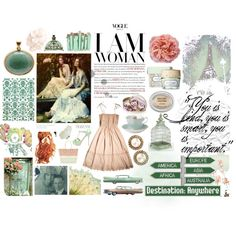 I am Woman, created by summergirl-914 on Polyvore