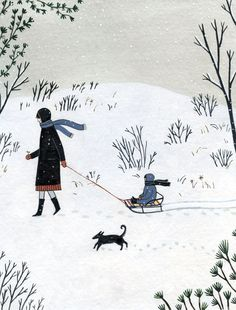 "https://flic.kr/p/nPXT6i | ""somnambula"" by yelena bryksenkova | for red cap cards holiday 2014"