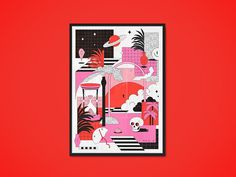 Clueso Artprint on Behance