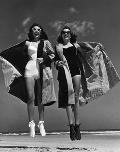 Photo by Philippe Halsman, Daytona Beach, 1947