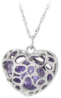 Full of Love Paw Print Necklace at The Animal Rescue Site  $6 AND it funds 14 bowls of food for hungry animals!