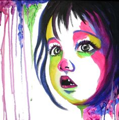 She Saw Colors Too by Jasleni Brito Pop Art, Little Girls, Disney Characters, Fictional Characters, Greeting Cards, Rainbow, Colorful, Wall Art, Prints