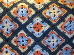 Ravelry: Project Gallery for Spectrum Afghan LW1233 pattern by Coats & Clark