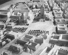 Richard Paulick, Modell Zentrales Gebäude Ost-Berlin, 1951