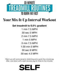 Get back on track for fall with this Treadmill Routine from SELF Magaz… – Get Fit, Get Glowing – Abnehmen Treadmill Routine, Treadmill Workouts, Butt Workouts, Running Workouts, Running Tips, Fitness Workouts, Fitness Tips, Fat Burning Pills, Fat Burning Cardio