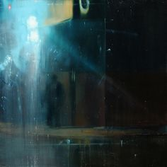 "Saatchi Online Artist: Brett Amory; Oil, 2012, Painting ""Waiting#144"""