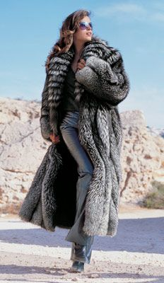 Silver Fox Fur Coat my dream fur coat #Fashion Passion to Fur world