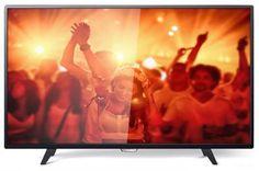 Philips 43PFT4001  — 22653 руб. —  LED- телевизор, 1920х1080, , прогрессивная развертка, PAL, SECAM, NTSC, DVB-T MPEG4,DVB-T2, DVB-C MPEG4, мощность 16 Вт (2х8 Вт), MP3, WMA, MPEG4, MKV, JPEG, SCART, VGA, HDMI x2, USB, оптический, Perfect Motion Rate 200 Гц, черный