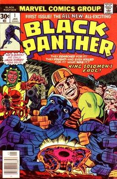 Welcome to the Psychedelic Seventies, my brothah! The Black Panther gets Kirby-ized with King Solomon's Frog(s)!