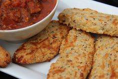 Bread sticks – low carb and gluten free
