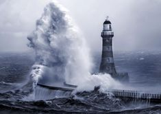 images of lighthouses | Roker_lighthouse_5_by_jonboy247