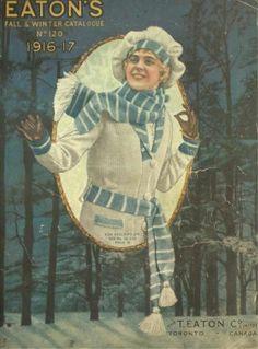 Эдвардианский 1916 Катание на коньках свитер с глубоким V шеи и координирующих аксессуаров.