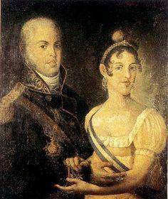 Dona Carlota Joaquina e Dom João VI