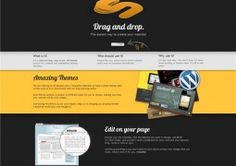 The easiest way to create your website. Drag and drop.