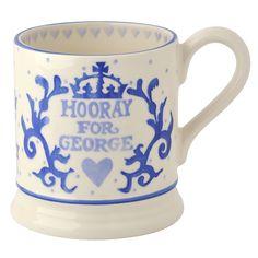 Love this!  It will look fantastic sitting alomgside my Royal Wedding Emma Bridgewater mug!  Royal Baby 1/2 Pint Mug for £19.95 #fabfind