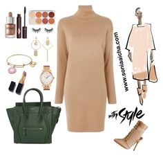 Up With Style by soniaaicha on Polyvore featuring polyvore, fashion, style, MICHAEL Michael Kors, Chantelle, CÉLINE, Tissot, Charlotte Tilbury and clothing