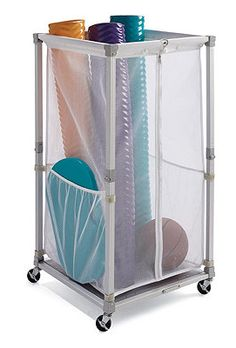 Clear The Pool Of Noodles, Toys, And Other Accessories With Our Collapsible  Storage Cart