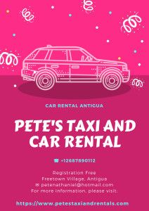 All Car Rental Antigua Airport Will Have A Contract Signed By You