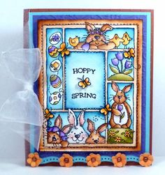 Easter Sampler by *1 wacky woman* - Cards and Paper Crafts at Splitcoaststampers