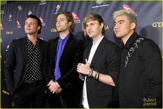 Ashton Irwin, Luke Hemmings, Michael Clifford and Calum Hood of 5 Seconds of Summer attend the 2019 G'Day USA Gala at on January 2019 in Culver City, California. Michael Clifford, Michael Ashton, Girls Talk Boys, Boys Who, Ashton Irwin, Calum Hood, Luke Hemmings, 5 Seconds Of Summer, 5sos Imagines