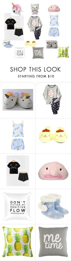 """""""Sleepover w/ Cousins"""" by kw82 ❤ liked on Polyvore featuring Monsoon and Surya"""