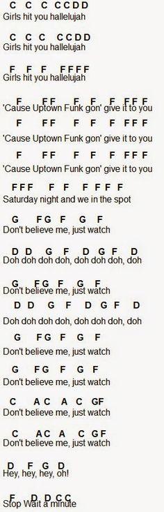 Flute Sheet Music: Bruno Mars