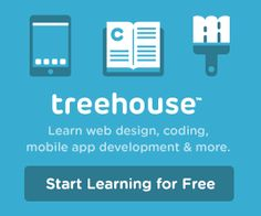 Treehouse is the fastest, easiest way to learn to code, make apps, and start a business. Tutorials in CSS, HTML, Ruby, JavaScript, iOS, and more. Learn from over 1000 videos created by expert teachers on web design, coding, business, and much more. Their library is continually refreshed with the latest on web technology so you'll never fall behind.