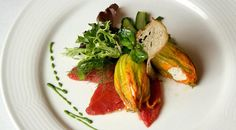Sweet, Sweet, Summer...we can hardly wait! Zucchini Flowers with Ricotta