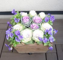 【WOODPRO】ガーデンママの部屋 ■寄せ植えプランター(深底タイプ)2 もっと見る