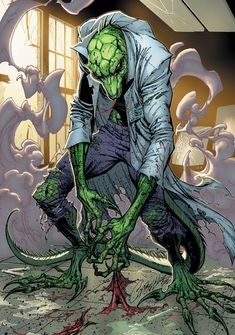 The Lizard by J. Scott Campbell
