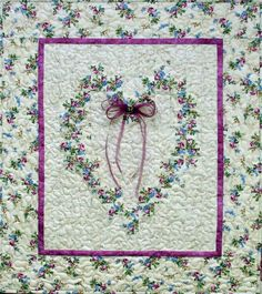 Check out the hearts quilts!