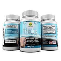 Tribulus Terrestris Extract 1000mg 120 Capsules 4 Month Supply  95 Steroidal Saponins 80 Protodioscin  Natural Testosterone Booster  Increase Stamina and Sex Drive in Men and Women *** Click on the image for additional details. (This is an affiliate link) #SexualNutrition