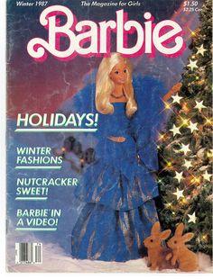 Barbie: The Magazine for Girls, Winter 1987