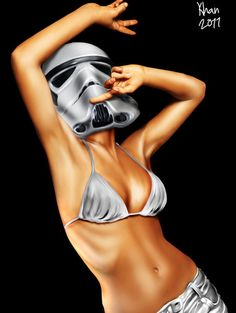 Storm Troopah by valadorf on DeviantArt Illustrations Posters, Art Girl, Bikinis, Swimwear, Pop Art, Deviantart, Dancing, Doodles, Star Wars