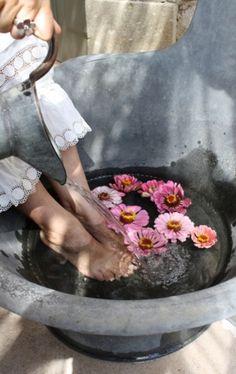 #Foot soak #Pedi