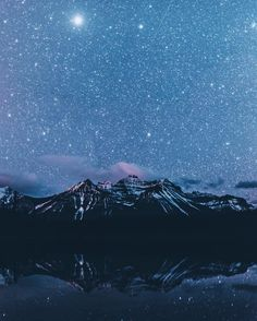 stars + mountains