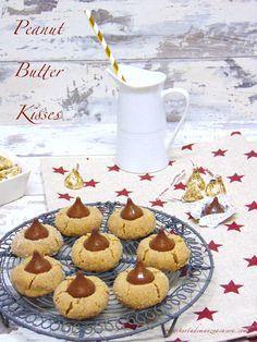 Galletas de mantequilla de cacahuete con Hershey's kisses-Peanut butter kises