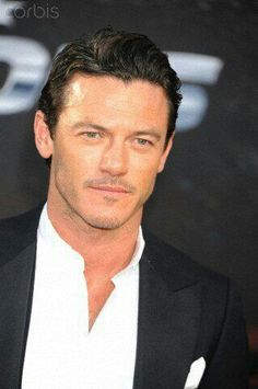 Luke Evans is the perfect combination of rugged yet stylish, masculine but not macho, and sensitive but intense.