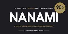 Nanami Pro - Webfont & Desktop font « MyFonts