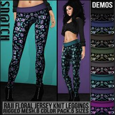 Sn@tch Raji Floral Leggings Vendor Ad LG | Flickr - Photo Sharing!