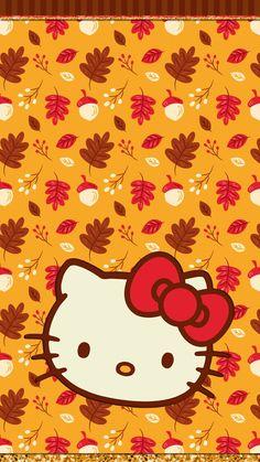 #digitalcutewalls Thanksgiving Wallpaper, Holiday Wallpaper, Fall Wallpaper, Summer Wallpaper Phone, Galaxy Wallpaper, Hello Kitty Halloween, Hello Kitty Birthday, Hello Kitty Backgrounds, Hello Kitty Wallpaper